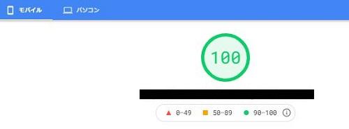 PageSpeed Insight-m100